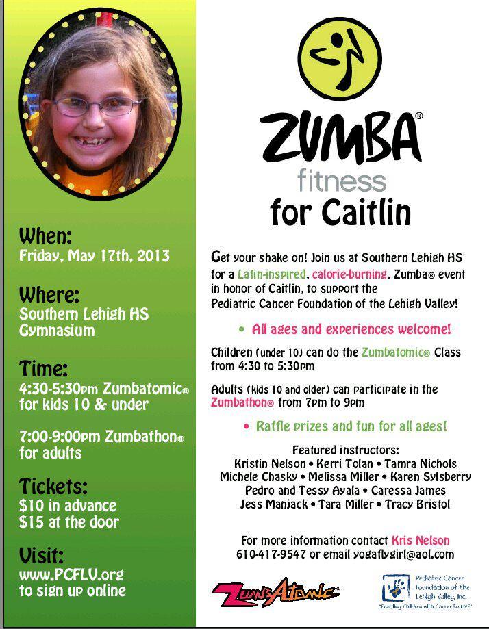 Fundraiser DJ Lehigh Valley Zumba